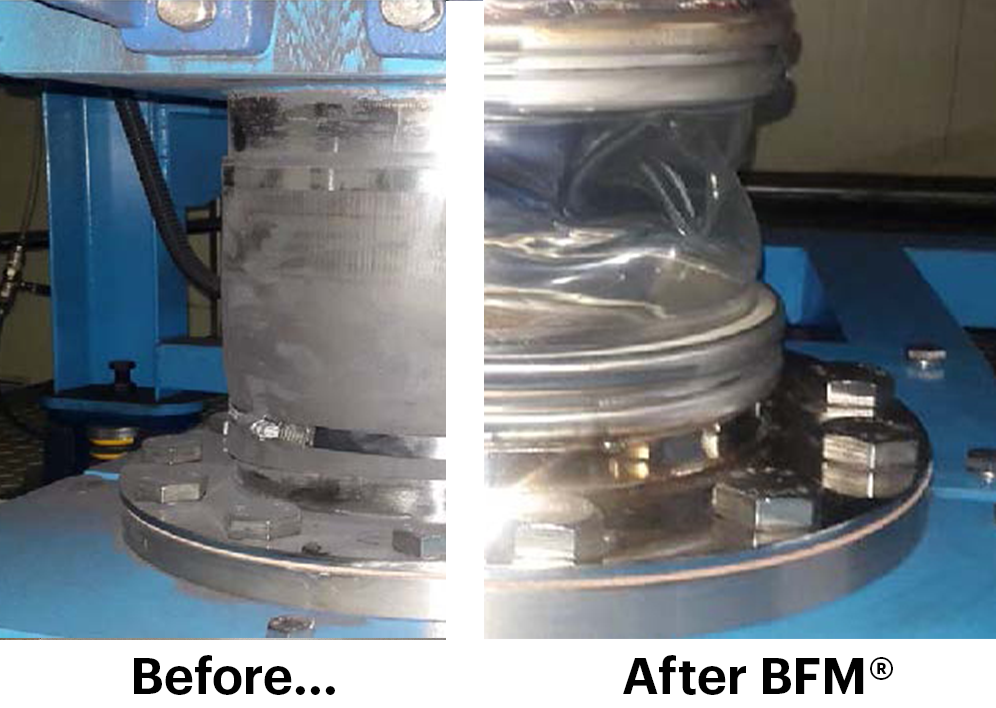 Super Fine Battery Powder Contained by BFM® fitting